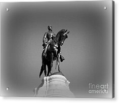 In All His Glory  Re Lee Acrylic Print by Nancy Dole McGuigan
