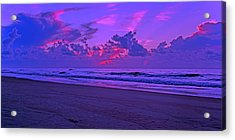 In All Its Brilliance Topsail Island Acrylic Print by Betsy Knapp