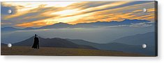 In Awe Of The View Acrylic Print