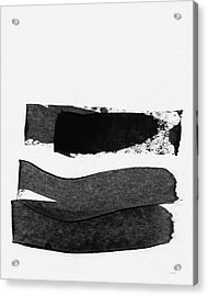 In Between Stage- Abstract Art By Linda Woods Acrylic Print