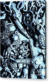 In Blue Nautilus  Acrylic Print