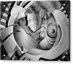 In Circle Acrylic Print