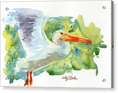 In Flight Acrylic Print by Mary Benke