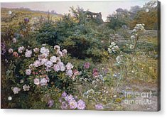 In Full Bloom  Acrylic Print by Henry Arthur Bonnefoy