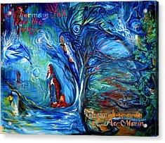 In Harmony Folk Lead The Way... Acrylic Print