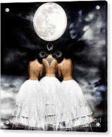 In Her Light Acrylic Print