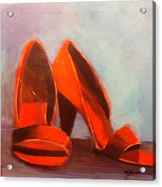 In Her Shoes Acrylic Print