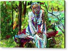 In Joyful Service Acrylic Print
