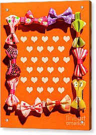 In Love Of Fashion Styling Acrylic Print