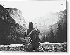 Yosemite Love Acrylic Print by JR Photography