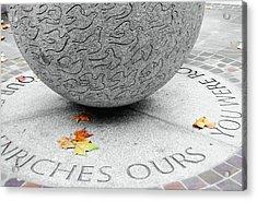 Peace Doves Acrylic Print by JAMART Photography