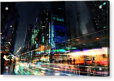 In Motion Acrylic Print by Philip Straub