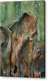 In Mourning - Abstract Acrylic Print by Nikolyn McDonald