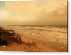 In My Dreams The Ocean Sings - Jersey Shore Acrylic Print