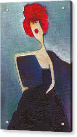 In My Evening Dress Acrylic Print