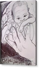 In My Father's Hand Acrylic Print by Jamey Balester