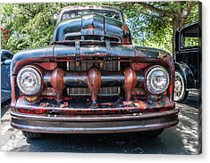 Acrylic Print featuring the photograph In My Grill by Michael Sussman