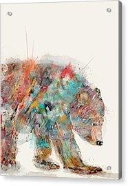 In Nature Bear Acrylic Print
