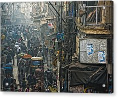 In Pursuit Of A Living Acrylic Print by Prateek Dubey