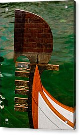 In Reflection Acrylic Print by Christopher Holmes
