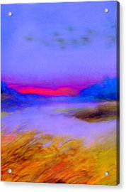 Acrylic Print featuring the painting In Rememberance by FeatherStone Studio Julie A Miller