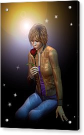 In Remembrance Acrylic Print by Shadowlea Is
