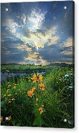 In Restless Dreams I Walk Alone Acrylic Print by Phil Koch