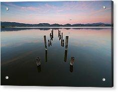 In Riva Al Lago Acrylic Print