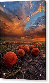 In Search Of The Great Pumpkin Acrylic Print