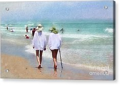 In Step With Life Acrylic Print