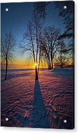 Acrylic Print featuring the photograph In That Still Place by Phil Koch