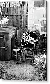 Acrylic Print featuring the photograph In The Backyard  by Elena Nosyreva
