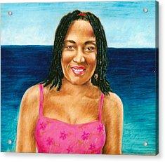 In The Caribbean Acrylic Print