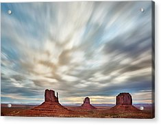 Acrylic Print featuring the photograph In The Clouds by Jon Glaser