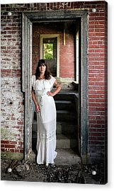 Acrylic Print featuring the photograph In The Doorway by Rick Berk