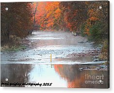In The Early Morning Mist Acrylic Print