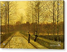 In The Golden Gloaming Acrylic Print
