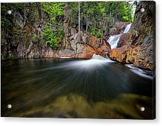 In The Gorge At Smalls Falls Acrylic Print