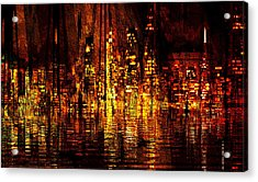 In The Heat Of The Night Acrylic Print
