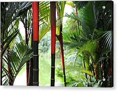 In The Jungle Acrylic Print by Jessica Rose