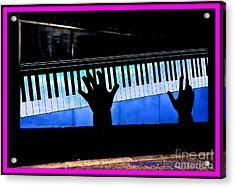 In The Key Of Cool Acrylic Print