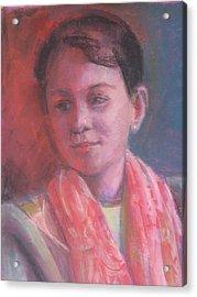 In The Light Acrylic Print by Pamela Preciado