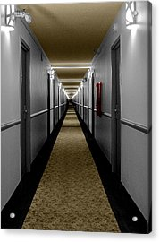 In The Long Hall Acrylic Print