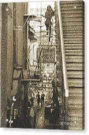 Acrylic Print featuring the photograph In The Middle by Charles McKelroy