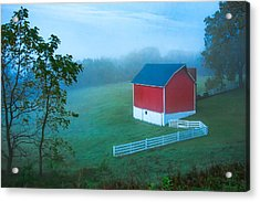 In The Midst Of The Mist Acrylic Print by Todd Klassy