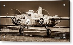 In The Mood - B-25 II Acrylic Print