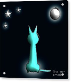In The Moonlight Acrylic Print