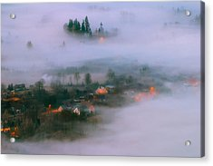 In The Morning Fog Acrylic Print