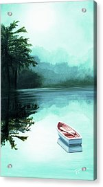 In The Morning Mist - Prints From My Original Oil Painting Acrylic Print