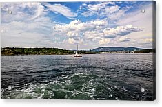 In The Oslo Fjord Acrylic Print